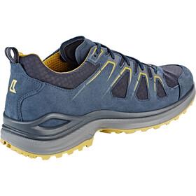 Lowa Innox Evo GTX Scarpe basse Uomo, steel blue/mustard